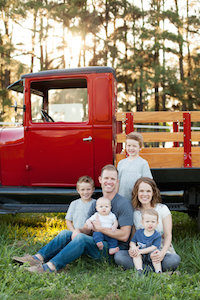 Zane Anderson and family